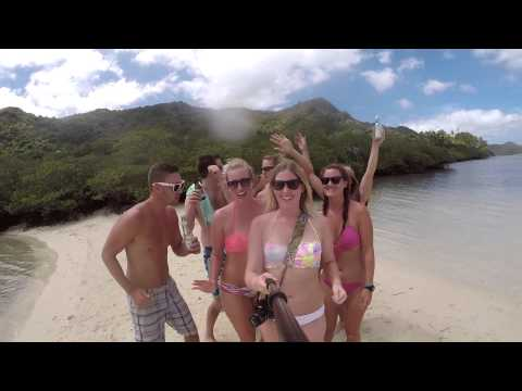 El Nido, Palawan, Philippines March 2015 GoPro HD Island Hopping, Snorkelling, Nacpan Beach & More