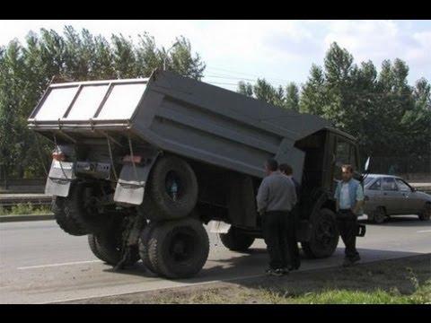 Подборка Аварий на дорогах. Грузовики 2013 Car crush compilation Russian Road Rage