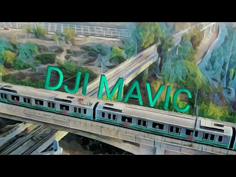 Delhi metro captured by drone in 4k.. Looks amazing