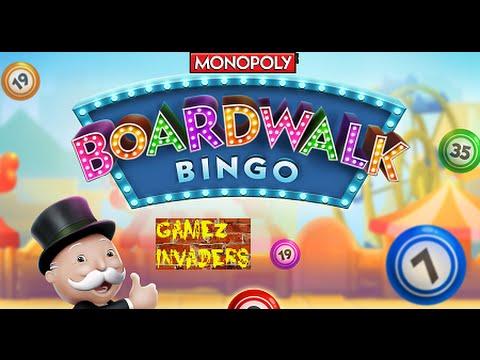 monopoly boardwalk bingo mobile