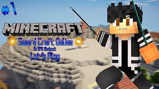 Download Video Minecraft: Sword Craft Online Modded Let's Play - Episode 1 - Town of Beginnings MP3 3GP MP4