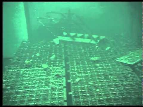 Spent Fuel Pool of reactor 4 Unit 4 at Fukushima Daiichi 8 May 2011