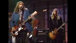 Drivin N Cryin - Fly Me Courageous 6/18/91 Late Night with David Letterman YouTube Videos