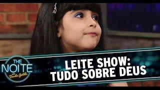 The Noite (25/09/14) - Leite Show: Você acredita em Deus?