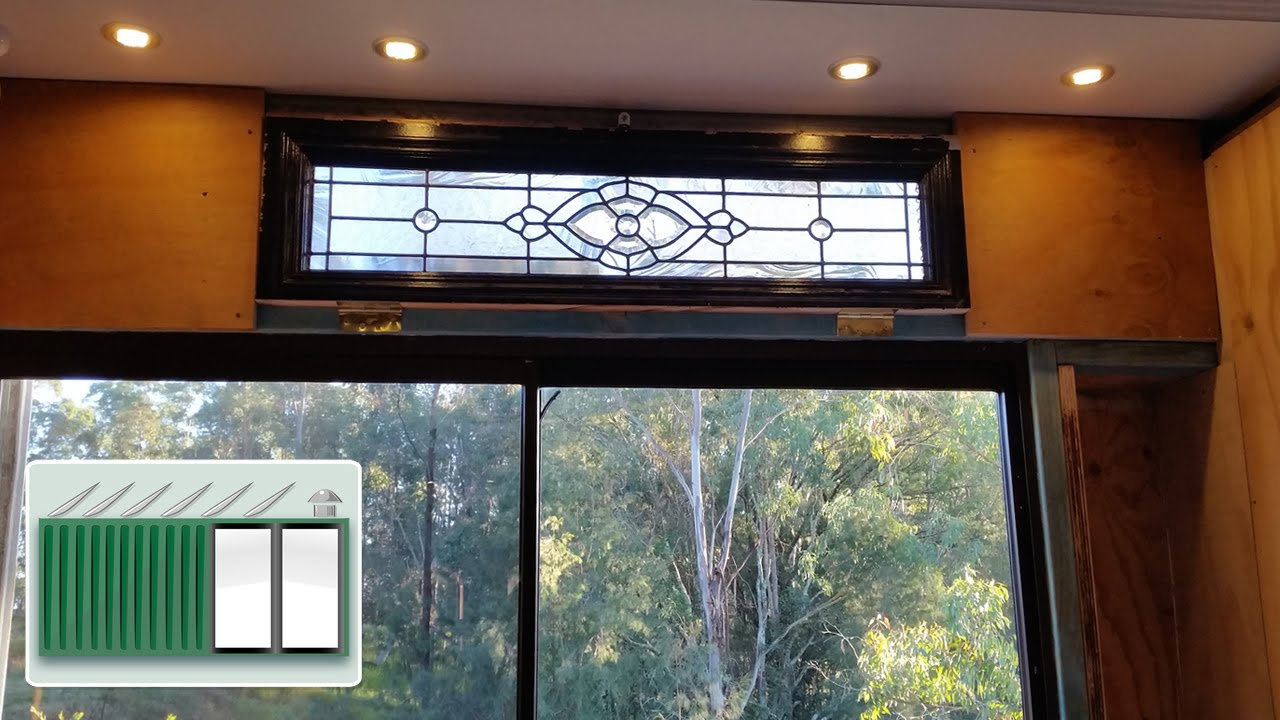 Shipping Container House Install Sliding Glass Door Wall In