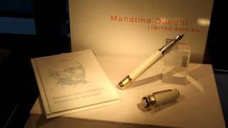 Tokyo Diary: Mahatma Gandhi needs a pen apparently..