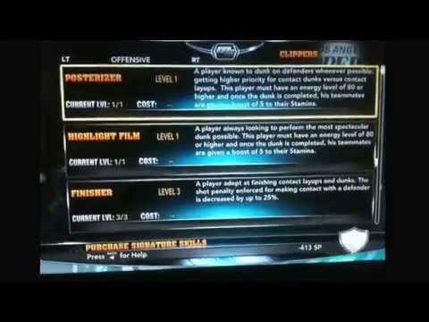 NBA 2K14 Xbox 360 My Career Skill Points Hack!!!