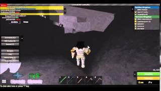 Localisaçao da mina secreta (Roblox guerra medieval)