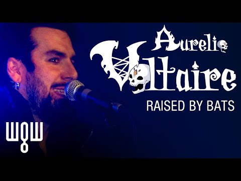 Whitby Goth Weekend - Aurelio Voltaire - 'Raised By Bats' Live