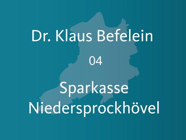 Dr Klaus Befelein