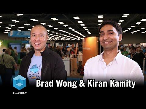 Bradley Wong, Docker & Kiran Kamity, Cisco  - DockerCon 2017 - #theCUBE - #DockerCon