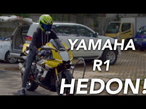 HEDON! Modifikasi Seharga 1 Yamaha R6! - #87 Yamaha R1 60th Anniversary Modifikasi Hedon! Indonesia