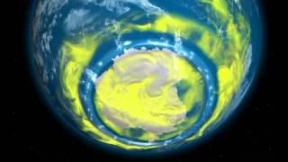 a giant hole in earth s ozone layer is finally closing up