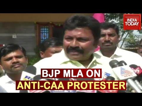 BJP MLA's Controversial