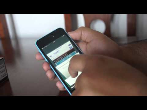 iPhone 5C, unboxing