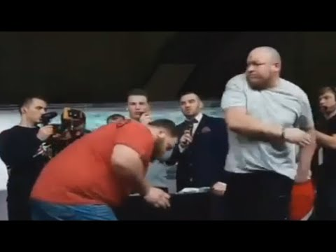 Aaron Zytle - World Slapping Champion Gets Knocked Out By First-Timer