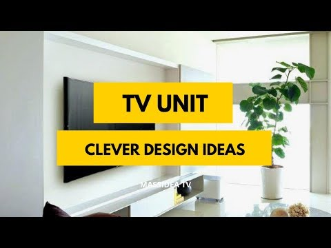 45+ Clever TV Unit Design Ideas from Facebook