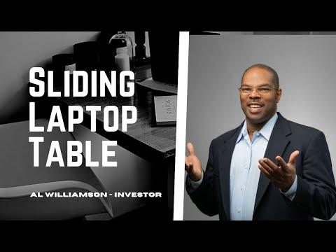 Sliding Laptop Table