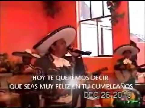 MA�ANITAS CRISTIANAS CON MARIACHI milagro del Rey