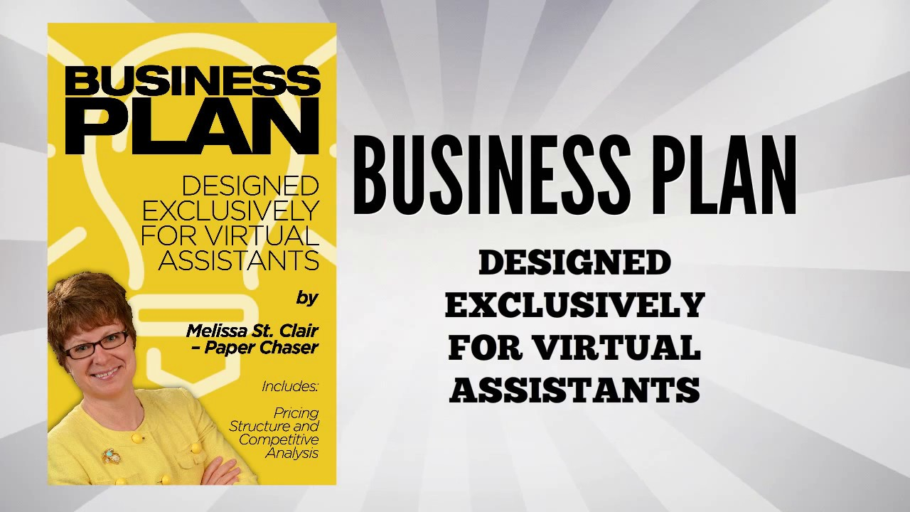 Va business plan template developed exclusively for virtual va business plan template developed exclusively for virtual assistants flashek Gallery