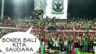 Ribuan Bonek Nyanyikan Ini Untuk Semeton dan NSB12 Stadion Dipta | Bali United vs Persebaya