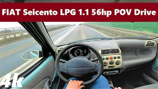 Fiat Seicento (2005) 1.1 56hp POV Drive & Acceleration   50th Limited Edition   Walkaround