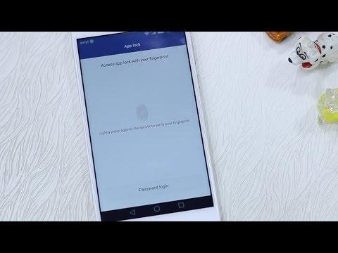 Honor 6x How To Lock Unlock Apps Using Fingerprint Scanner