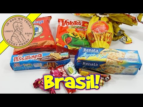 Try Treats Brazil Monthly Subscription Candy & Snacks Box