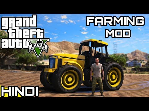 REAL LIFE 🚜FARMING🚜 in GTA V | KrazY Gamer |