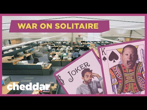 The Misguided War on Solitaire - Cheddar Explains