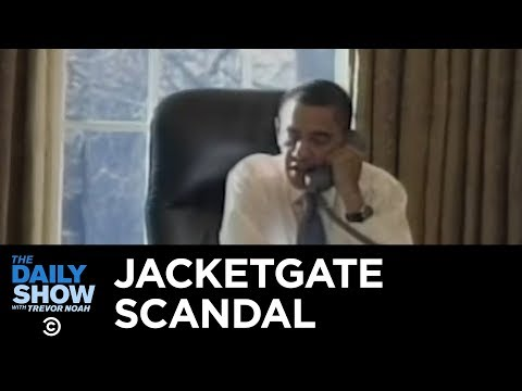 Worst Scandals in Presidential History: Obama's Jacketgate   The Daily Show