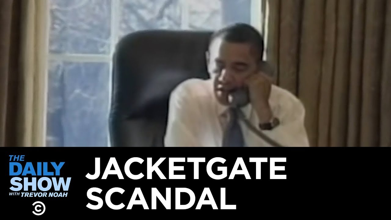 Obama's Jacketgate: The Worst Scandal in Presidential History | The Daily Show