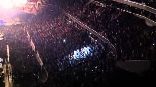 Coldplay Verizon Center DC July 8, 2012 Encore