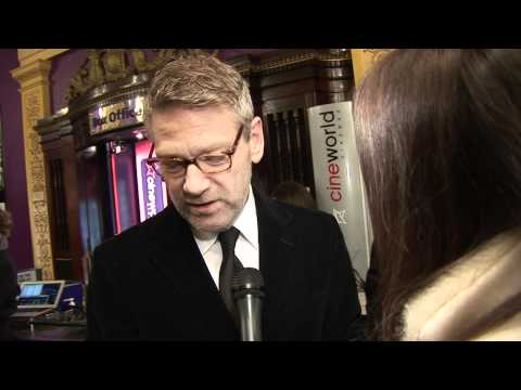 Kenneth Branagh Interview  on My Week With Marilyn