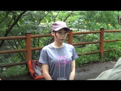 蓮実クレア(AV女優)が「山女子クラブ登山教室」に参加。(前編)