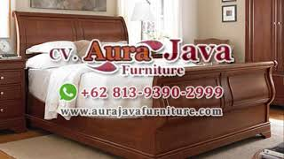 Minimalist Bed | Mahogany Bed | Jepara Furniture | Indonesia Furniture | Ajf | 2019