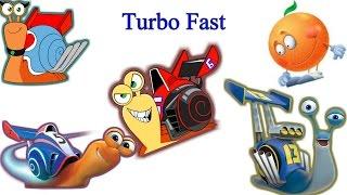 Turbo FAST Игра гонки на улитках Мультик