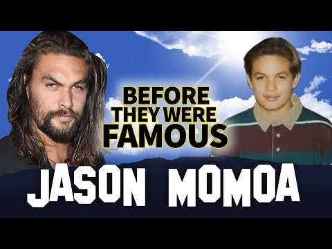 JASON MOMOA  Before They Were Famous  AQUAMAN