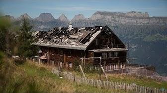 Schadenfall – Brand im Berghotel Schönhalden