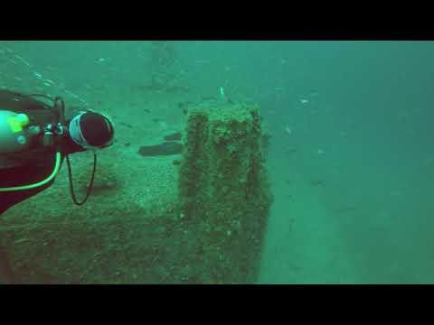 Avocet Dredge Dive, Pensacola, Florida, Panhandle Shipwrecks
