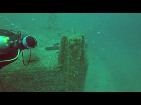 Avocet Dredge Dive, Pensacola, Florida, Panhandle Shipwrecks