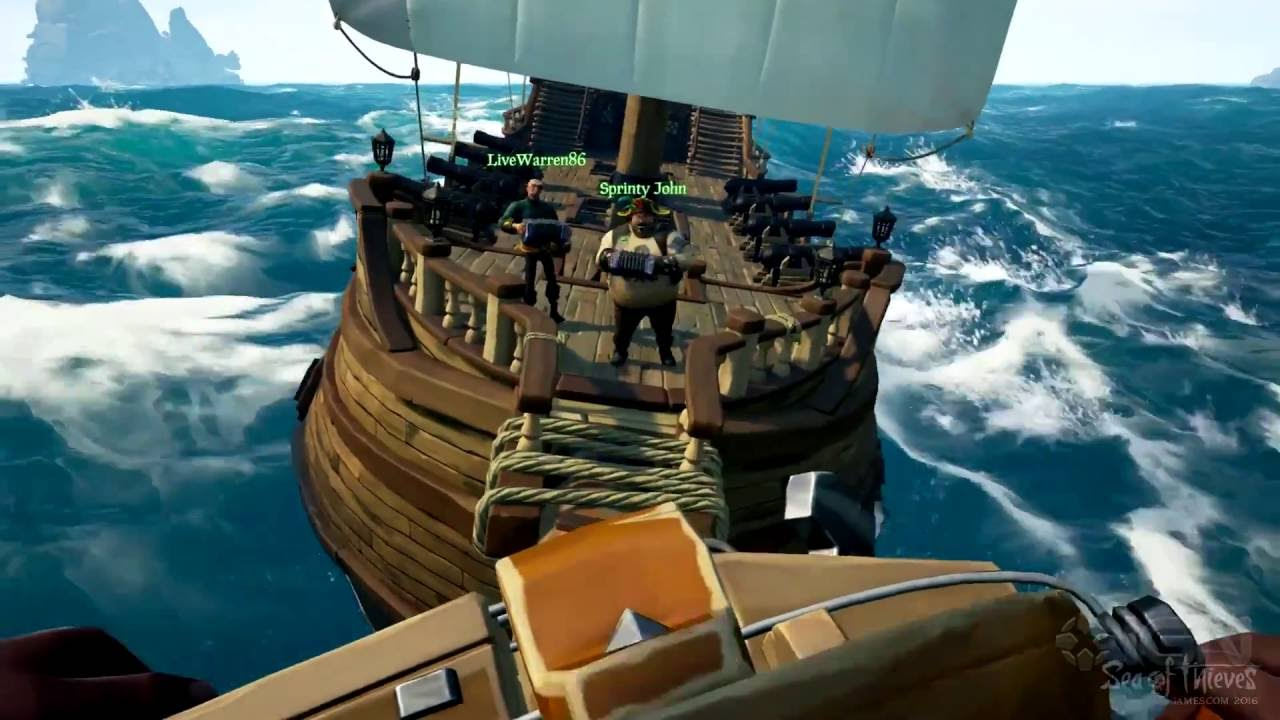 Play Sea of Thieves