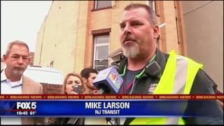 NJ Transit train crash in Hoboken, NJ