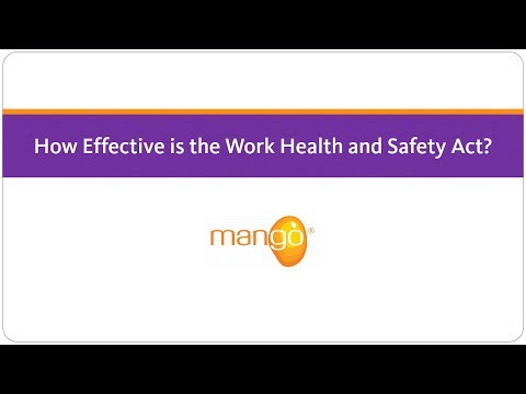 How Effective is the Work Health and Safety Act?