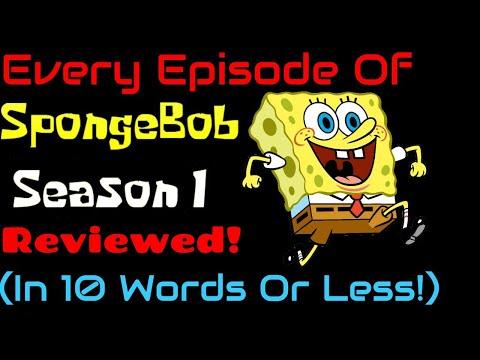 Every Episode Of SpongeBob Season 1 Reviewed In 10 Words Or Less!