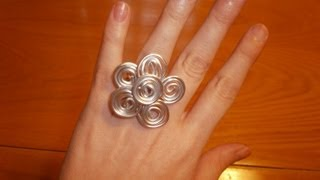 Cómo hacer un anillo de alambre con forma de flor | facilisimo.com