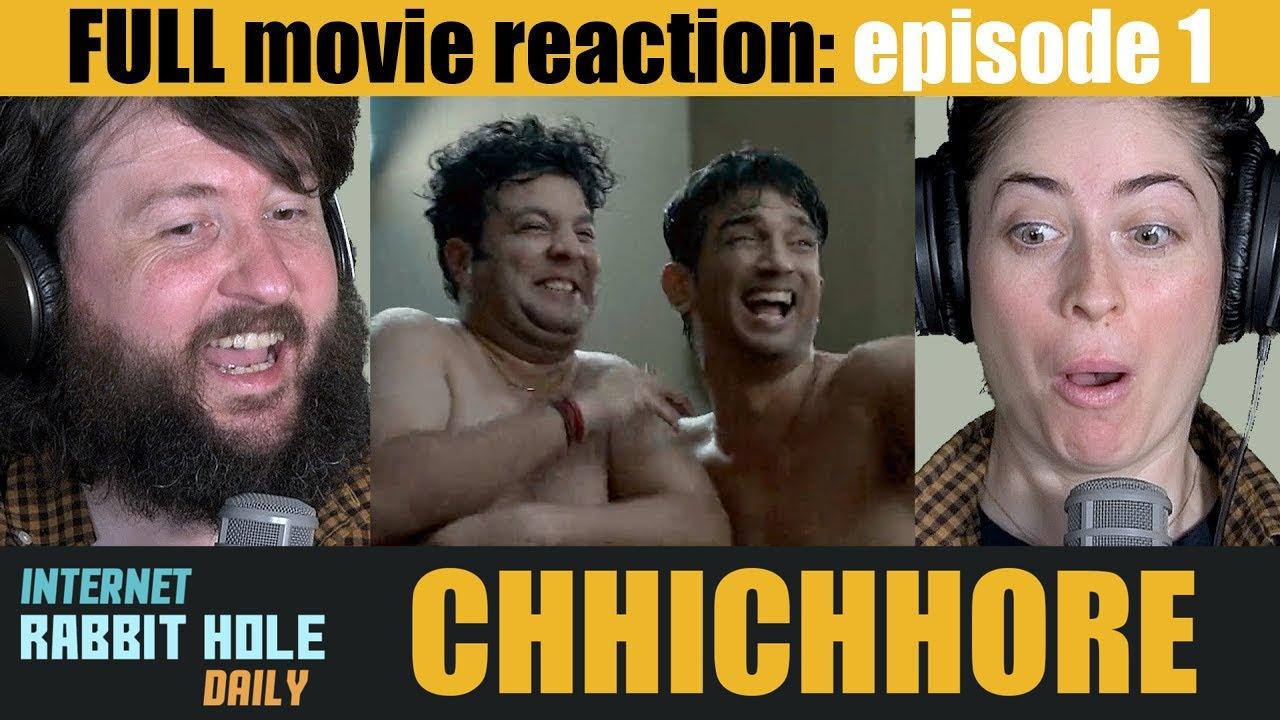 Download Chhichhore   HINDI   FULL MOVIE REACTION SERIES   irh daily   EPISODE 1