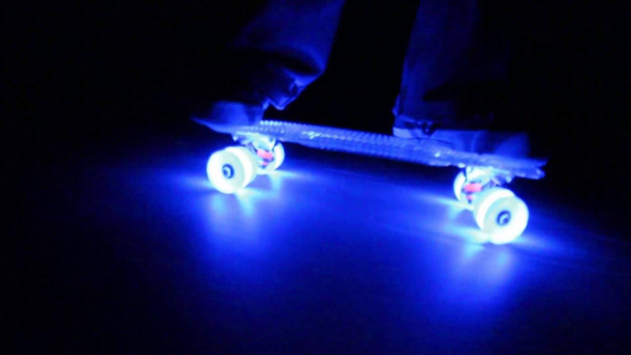 Sunset Skateboards With Flare Led Wheels 24 7 Fun Youtube