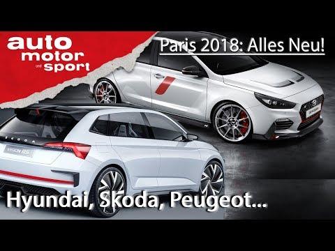 NEU in Paris: Hyundai, Peugeot, Renault, Ferrari, Skoda, Toyota und Vinfast | auto motor und sport