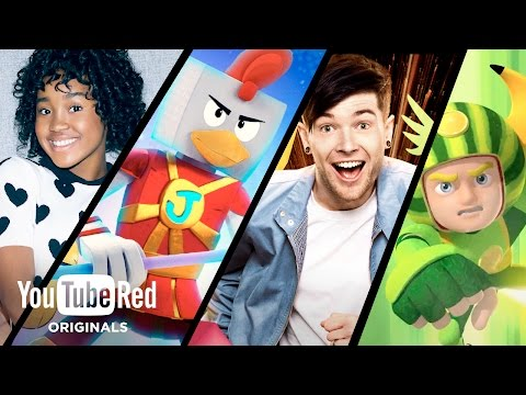 Introducing new YouTube Red Originals - now for the whole family!